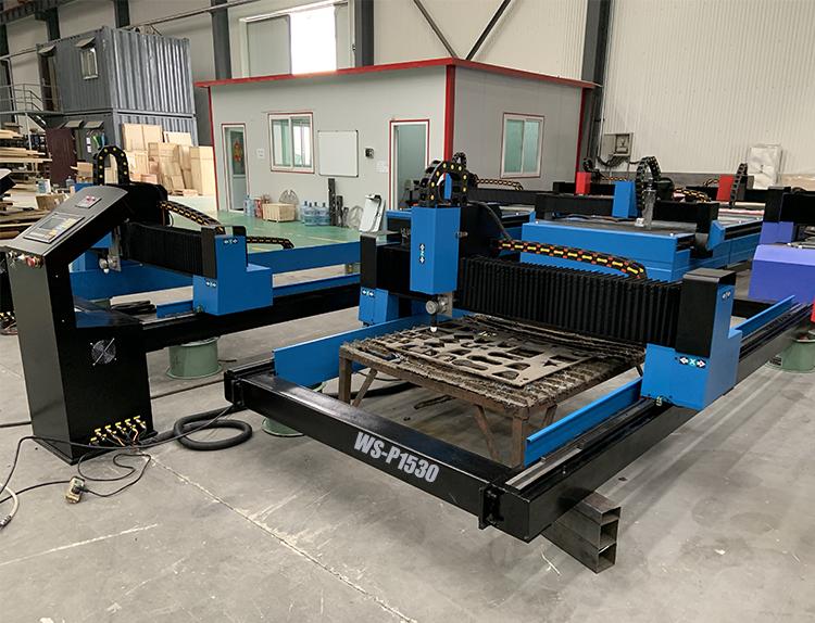 WS-P1530 Gantry Portable CNC Metal Plasma Cutting Machine